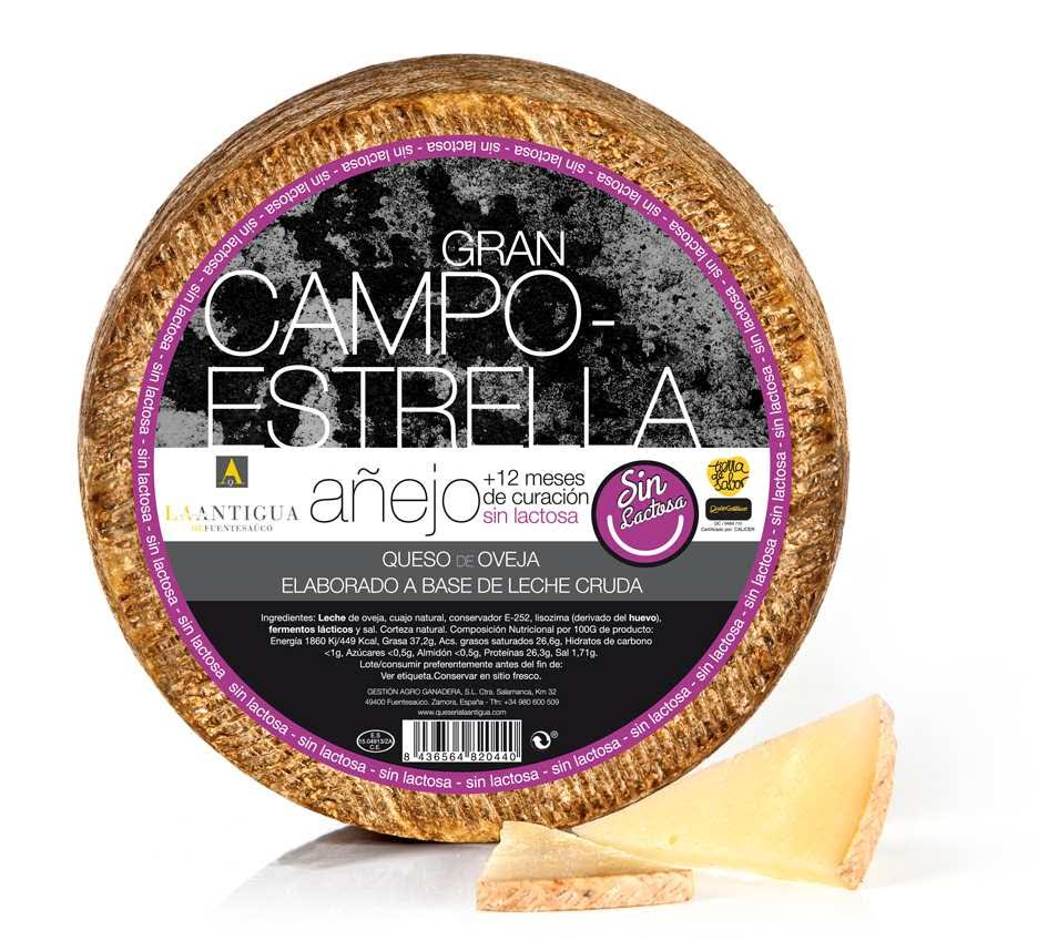 Sheep Cheese Great Campoestrella Lactose